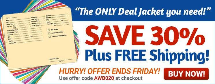 Deal Jackets 30%off plus Free Shipping