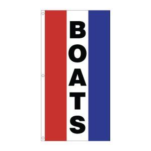 "Vertical Tricolor Flag - ""Boats"""