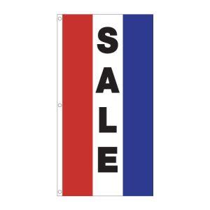 """Vertical Tricolor Flag - """"Sale"""""""