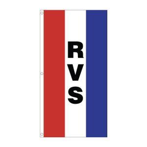 "Vertical Tricolor Flag - ""RVS"""