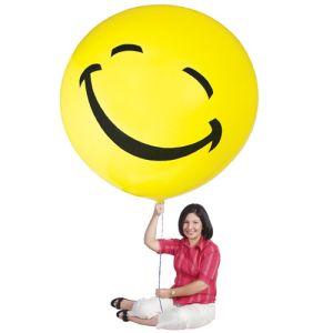 """72"""" Smiley Face Latex Balloon"""