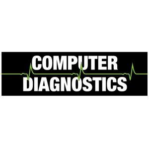 """Vinyl Banner - """"Computer Diagnostics"""""""
