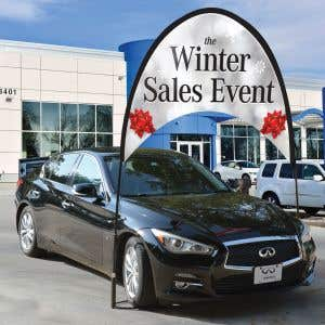"""Arch Banner Kit - """"Winter Sales Event"""""""
