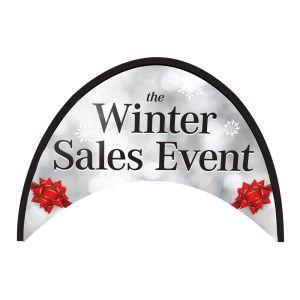 "Arch Banner - ""Winter Sales Event"""