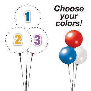 Pick Your Colors - Reusable Balloon Trio