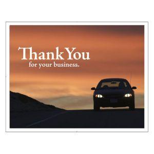 Laser Postcard - Sunset Car Design