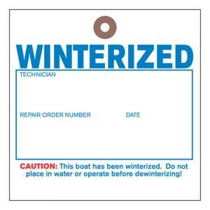 """Winterized"" Tyvek Tag"