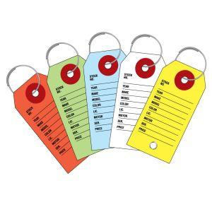 Cardboard Key Tags