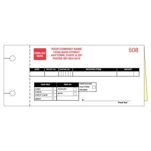 Cash Receipt - 2 Part with Personalization