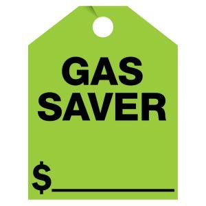 """Mirror Hang Tag - """"Gas Saver"""""""