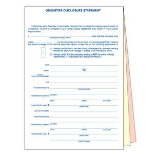 Odometer Disclosure Statement