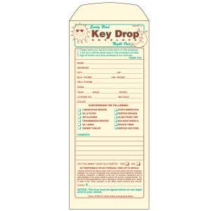 Mechanical Early Bird Key Drop Envelope