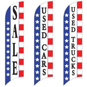 Sales Wave Flags - Patriotic