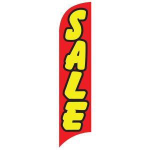 Sales Wave Flag -