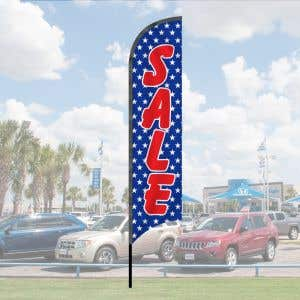 Wave Flag Kits - American Stars - Sale