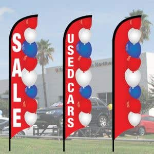 3D Wave Flag Kits - Patriotic Balloons