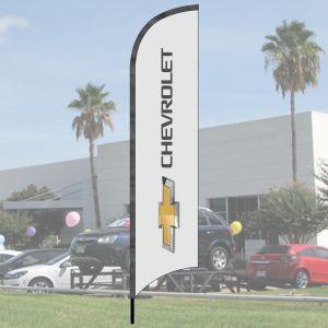 Franchise Wave Flag Kits - Chevrolet