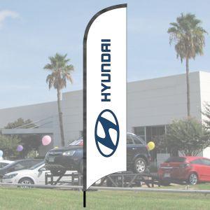 Franchise Wave Flag Kits - Hyundai