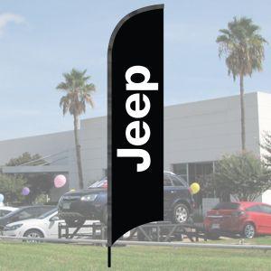 Franchise Wave Flag Kits - Jeep