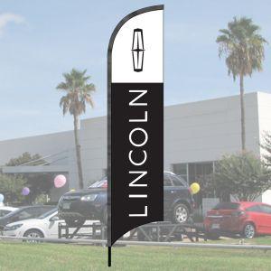 Franchise Wave Flag Kits - Lincoln