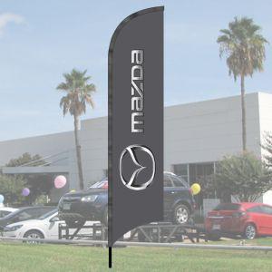 Franchise Wave Flag Kits - Mazda