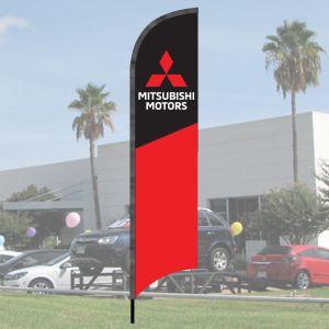 Franchise Wave Flag Kits - Mitsubishi