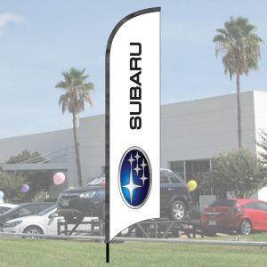 Franchise Wave Flag Kits - Subaru