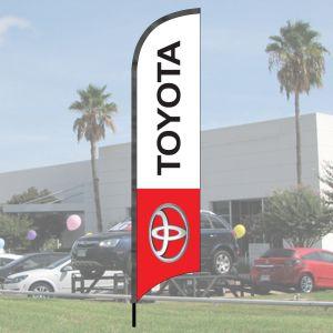 Franchise Wave Flag Kits - Toyota