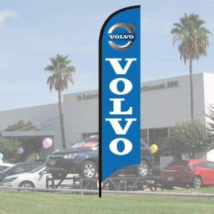 Franchise Wave Flag Kits - Volvo