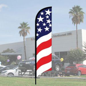 Sales Wave Flag Kits - Stars and Stripes