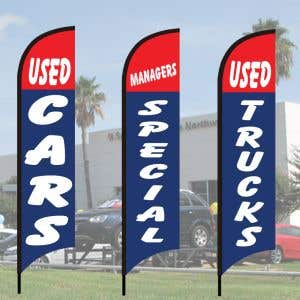 Each kit includes a Windless Flag, Flagpole and choice of base.