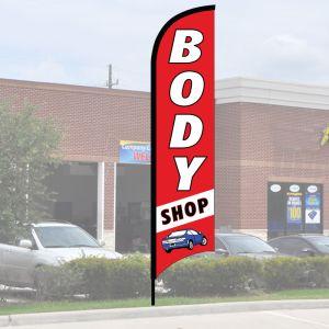 "Service Wave Flag Kits - ""Body Shop"""