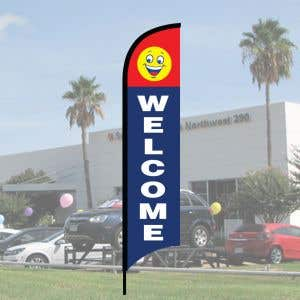 """Sales Wave Flag Kits - """"Welcome"""""""
