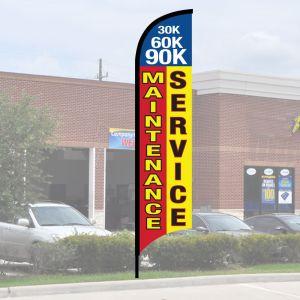 Service Wave Flag Kits - Maintenance Service
