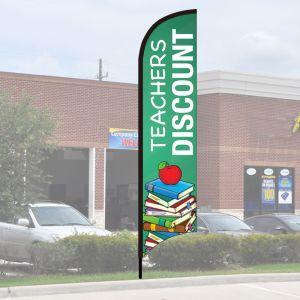 Wave Flag Kits - Teachers Discount