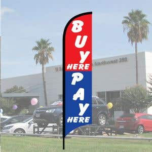 """Sales Wave Flag Kits - """"Buy Here Pay Here"""""""