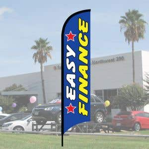 "Sales Wave Flag Kits - ""Easy Finance"" Vertical"