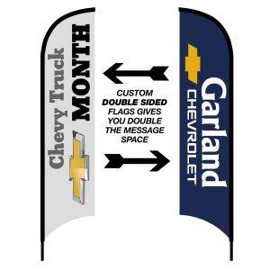 Double-Sided Custom Wave Flag Kit