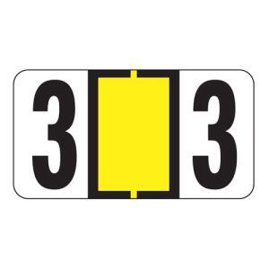 ServiceFile VIN Number Labels on Sheets - Number 3