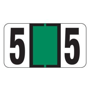 ServiceFile VIN Number Labels on Sheets - Number 5