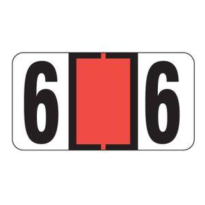 ServiceFile VIN Number Labels on Sheets - Number 6
