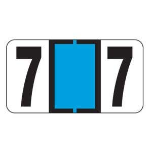 ServiceFile VIN Number Labels on Sheets - Number 7