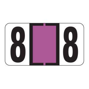 ServiceFile VIN Number Labels on Sheets - Number 8