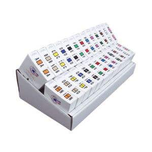 Kit includes a total of 13000 Labels, Alpha Letters A through Z.