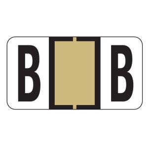 ServiceFile Labels on Sheets - Alpha Letter - B