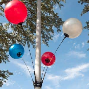 Reusable Balloon Light Pole Kit