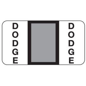 ServiceFile Franchise Labels on Rolls - Dodge