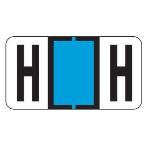 ServiceFile Labels on Sheets - Alpha Letter - H