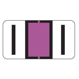 ServiceFile Labels on Sheets - Alpha Letter - I