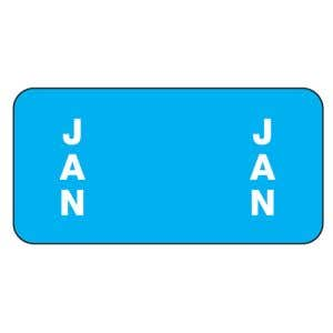 ServiceFile Month Labels on Sheets - January